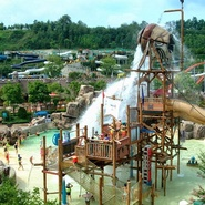 Caribbean Bay waterpark full-day tour